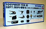 Equipment Set for US WWII Navy Ships (II) -- Plastic Model Ship Accessory -- 1/700 Scale -- #e9
