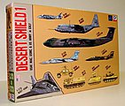 Desert Shield USAF, MAC, USMC & US Army in the Gulf -- Plastic Model Airplane Kit -- 1/700 -- #s6