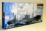 IJN Tanker Erimo Class Sata/Shiriya -- Plastic Model Military Ship Kit -- 1/700 Scale -- #w61