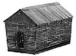 Country Corn Crib Kit - HO-Scale
