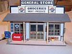 General Store Detail Assortment -- 7-Pieces - O-Scale