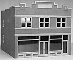 Dime Store & Offices City Building -- HO Scale Model Railroad Building -- #6005