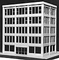 Vicky's Building Kit -- HO Scale Model Railroad Building -- #6027
