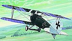 Albatros D III BiPlane -- Plastic Model Airplane Kit -- 1/48 Scale -- #816