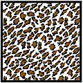 Comp. Fiber Decal Leopard Pattern (1970's) -- Plastic Model Vehicle Decal -- 1/24 Scale -- #1974