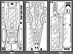 Wolf WR1 F1 Photo-Etch Detail Set For TAM -- Plastic Model Vehicle Accessory -- 1/12 Scale -- #8075