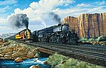 Beauty and The Beast (Locomotives) 1000pcs -- Jigsaw Puzzle 600-1000 Piece -- #21927