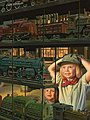 Train Shop Window 500pcs -- Jigsaw Puzzle 0-599 Piece -- #32196