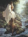 Be Not Afraid (Jesus Helping Children) 500pcs -- Jigsaw Puzzle 0-599 Piece -- #47076