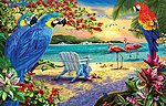 Secluded Beach 1000pcs -- Jigsaw Puzzle 600-1000 Piece -- #58260