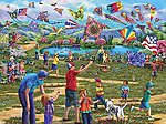 Kites In The Park 1000pcs -- Jigsaw Puzzle 600-1000 Piece -- #58299