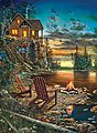 Summer Pleasures 1500pcs -- Jigsaw Puzzle Over 1000 Piece -- #67367