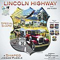 Lincoln Highway 1000pcs Shaped -- Jigsaw Puzzle 600-1000 Piece -- #95812