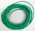 10' 30 AWG Wire Green -- Model Railroad Hook Up Wire -- #810152