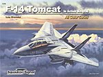 F-14 Tomcat in Action Color -- Authentic Scale Model Airplane Book -- #1206