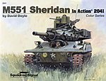 M551 Sheridan Color In Action -- Authentic Scale Tank Vehicle Book -- #2041