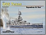 USS Texas Squadron At Sea -- Authentic Scale Model Boat Book -- #34003
