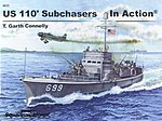 US Sub Chasers Color In Action -- Authentic Scale Model Boat Book -- #4033