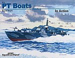 PT Boats In Action -- Authentic Scale Model Boat Book -- #4034