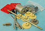 Motor Gear Set & RE280 Motor w/Mounting Plate