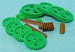 Assorted Large Plastic Motor Gears (16pcs)