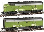 F9A/F9B RTR BN #770/807 - HO-Scale