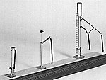 Diesel Sand Tower Water & Fuel Column -- Model Railroad Building Accessory -- N Scale -- #1103