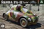 WWII Skoda PA-11 Turtle -- Plastic Model Military Vehicle Kit -- 1/35 Scale -- #2024