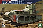 WWI MK A Whippet -- Plastic Model Military Vehicle Kit -- 1/35 Scale -- #2025
