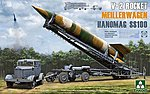 V-2 Rocket Hanomag SS-100 -- Plastic Model Military Vehicle Kit -- 1/35 Scale -- #2030