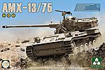 AMX-13/75 I.D.F. Light Tank -- Plastic Model Military Vehicle Kit -- 1/35 Scale -- #2036