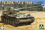 AMX-13/90 French Light Tank -- Plastic Model Military Vehicle Kit -- 1/35 Scale -- #2037