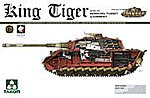 King Tiger Sd.Kfz.182 -- Plastic Model Military Vehicle Kit -- 1/35 Scale -- #2045
