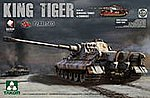 King Tiger Pz.Abt.505 -- Plastic Model Military Vehicle Kit -- 1/35 Scale -- #2047