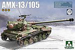 French Light Tank AMX-13/105 -- Plastic Model Military Vehicle Kit -- 1/35 Scale -- #2062