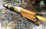WWII German V-2 Missile -- Plastic Model Military Vehicle Kit -- 1/35 Scale -- #2075