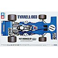 Tyrrell 003 1971 Monaco GP -- Plastic Model Car Kit -- 1/12 Scale -- #12054