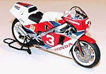 Honda NSR500 Factory Color Racing Bike -- Plastic Model Motorcycle Kit -- 1/12 Scale -- #14099