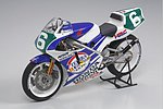 Ajinomoto Honda NSR250 1990 Bike -- Plastic Model Motorcycle Kit -- 1/12 Scale -- #14110