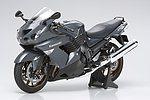 Kawasaki ZZR 1400 Bike -- Plastic Model Motorcycle Kit -- 1/12 Scale -- #14111
