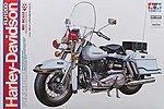 Harley Davidson FLH1200 Police Bike -- Plastic Model Motorcycle Kit -- #16038