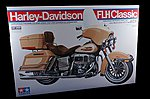 Harley Davidson FLH Classic -- Plastic Model Motorcycle Kit -- 1/6 Scale -- #16040