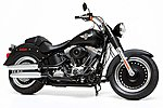 Harley Davidson FLSTFB Fat Boy Lo Bike -- Plastic Model Motorcycle Kit -- 1/6 Scale -- #16041
