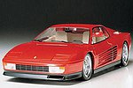 Ferrari Testarossa Sportscar Roadster Coupe -- Plastic Model Car Kit -- 1/24 Scale -- #24059