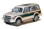 Pajero Super Exceed SUV -- Plastic Model Vehicle Kit -- 1/24 Scale -- #24115