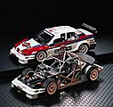 MARTINI ALFA ROMEO 155 V6TI -- 1/24 Scale Plastic Model Car Truck Vehicle -- #24176