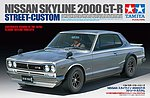 Nissan Skyline 2000 GT-R Street Custom -- Plastic Model Car Kit -- 1/24 Scale -- #24335