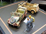 German VW Kubelwagen WWII -- Plastic Model Military Vehicle Kit -- 1/48 Scale -- #32501