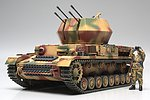 Flak Panzer IV Wirbelwind Tank WWII -- Plastic Model Military Vehicle Kit -- 1/48 Scale -- #32544