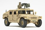 US Modern 4x4 Utility Vehicle w/Grenade Laun -- Plastic Model Military Vehicle Kit -- 1/48 -- #32567